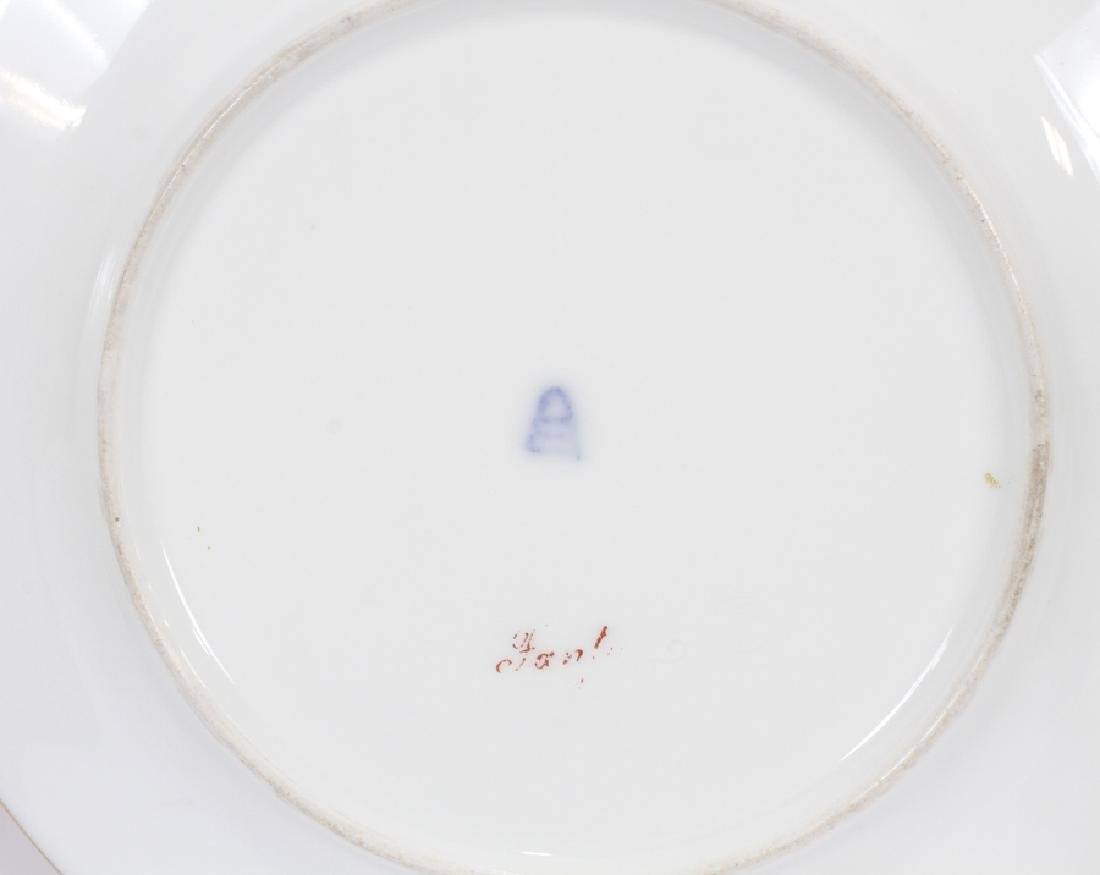 ROYAL VIENNA PORCELAIN PORTRAIT PLATES - 7