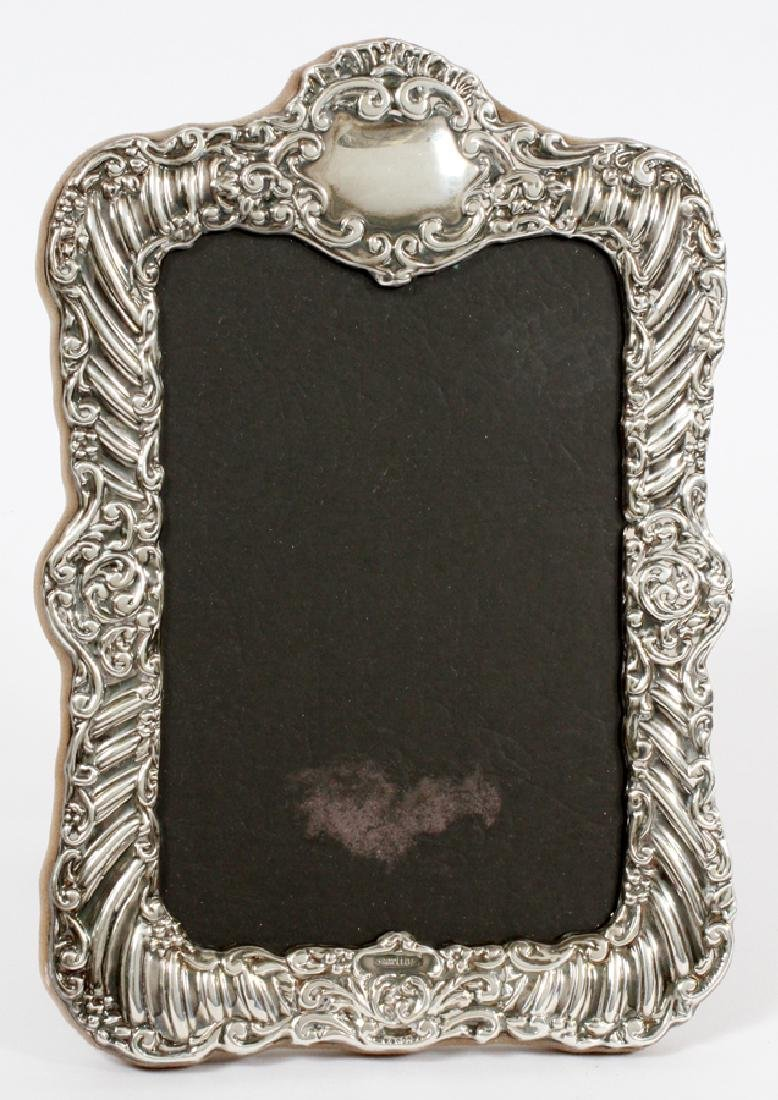 """STERLING SILVER PICTURE FRAME, H 8"""", W 5.5"""""""