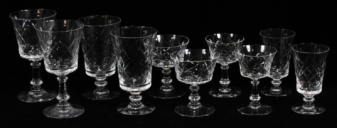 FOSTORIA CRYSTAL GLASSWARE SET