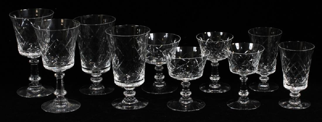 FOSTORIA CRYSTAL GLASSWARE SET