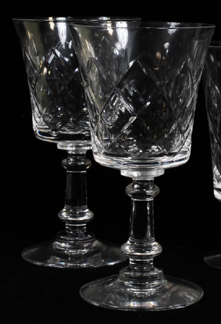 FOSTORIA CRYSTAL GLASSWARE SET - 2