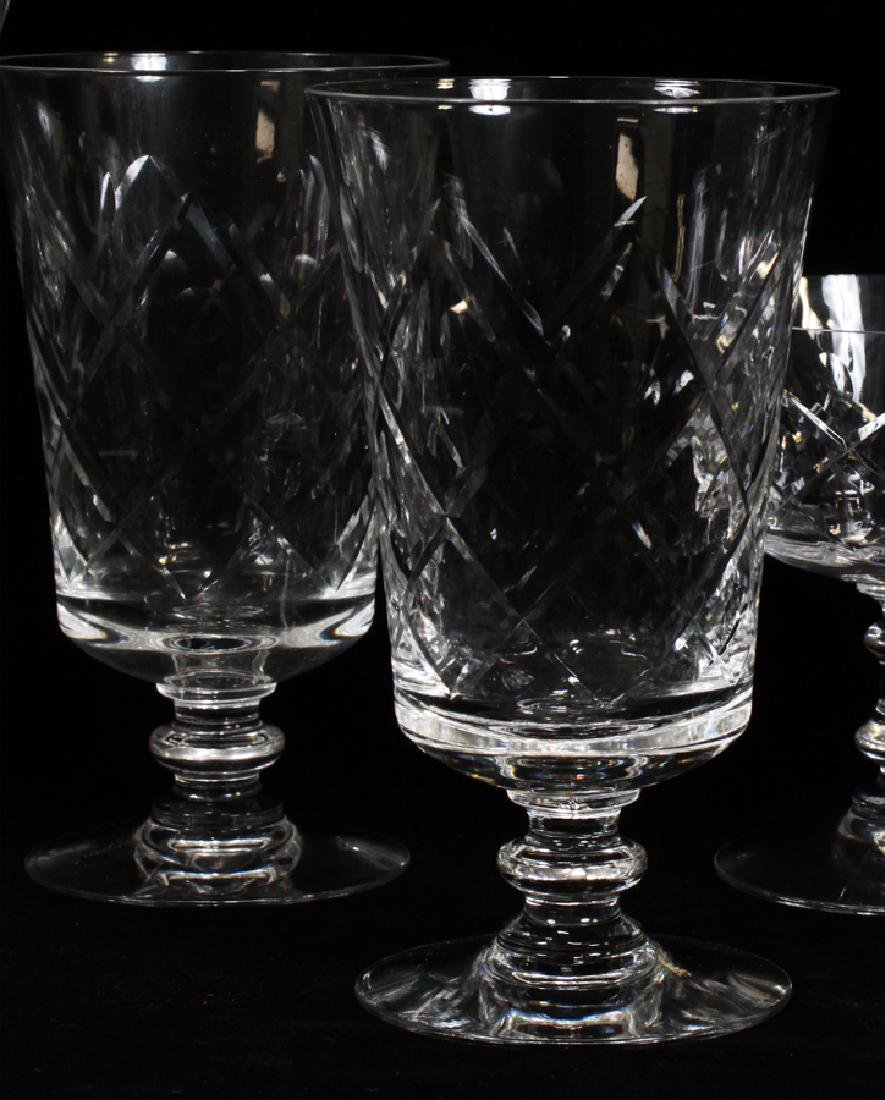 FOSTORIA CRYSTAL GLASSWARE SET - 3