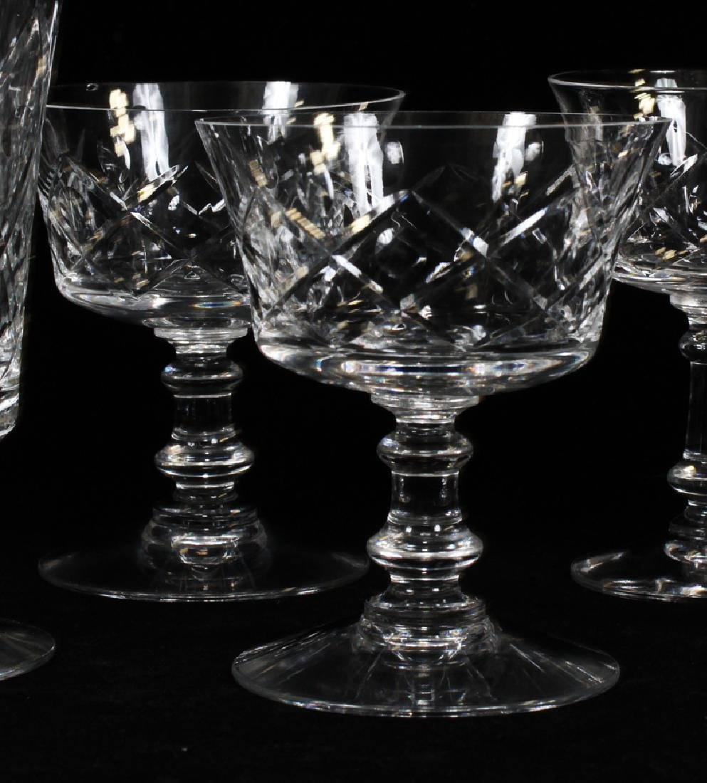 FOSTORIA CRYSTAL GLASSWARE SET - 4