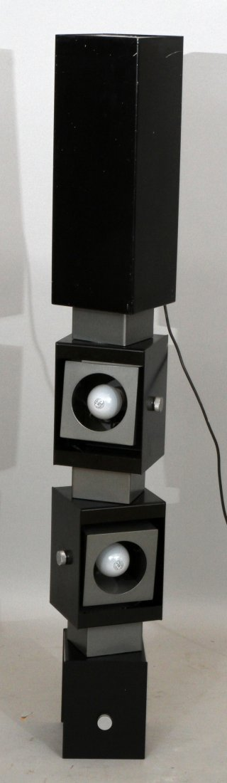 """ADJUSTABLE FLOOR LAMP,  H 49"""" - 2"""