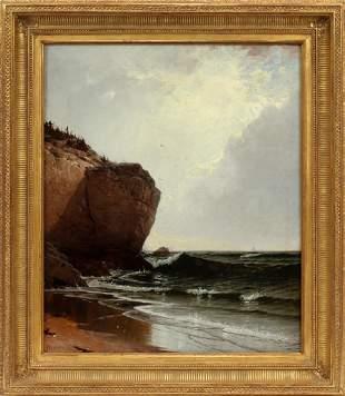 ALFRED THOMPSON BRICHER OIL ON CANVAS, 1873