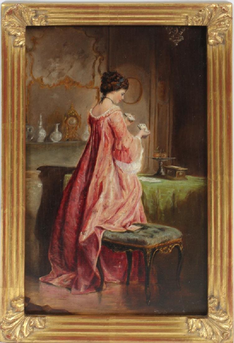 MANNER OF LOUIS MARIE DE SCHRYVER OIL ON PANEL