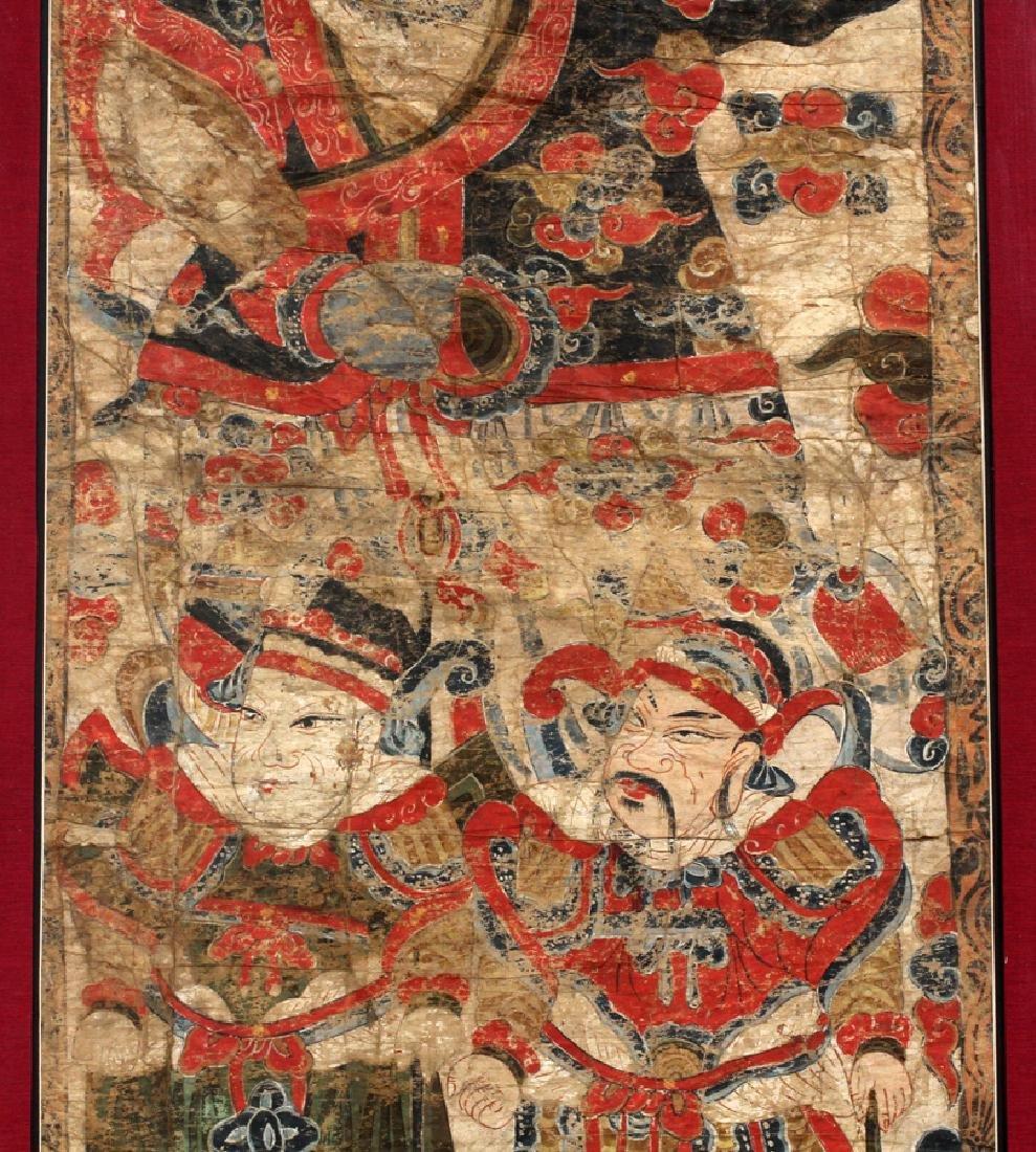 HANOI EMPEROR ASIAN HAND PAINTED FIGURAL SCENE - 3