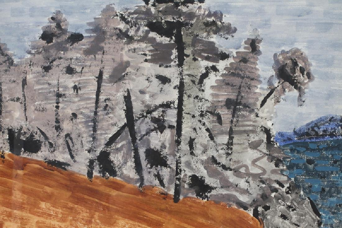 MILTON AVERY WATERCOLOR ON PAPER, 1956 - 2