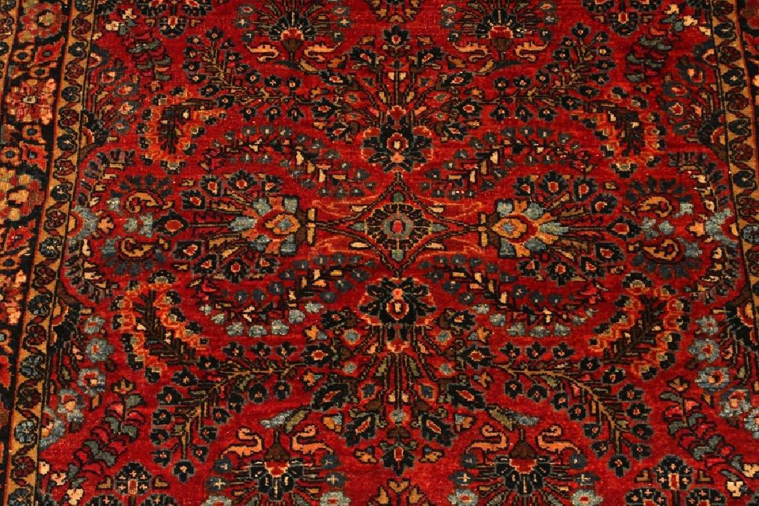 SAROUK PERSIAN ORIENTAL RUG, CIRCA 1930 - 2