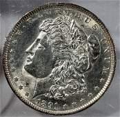 070179: US MORGAN STERLING SILVER DOLLAR MS-63 1891-P