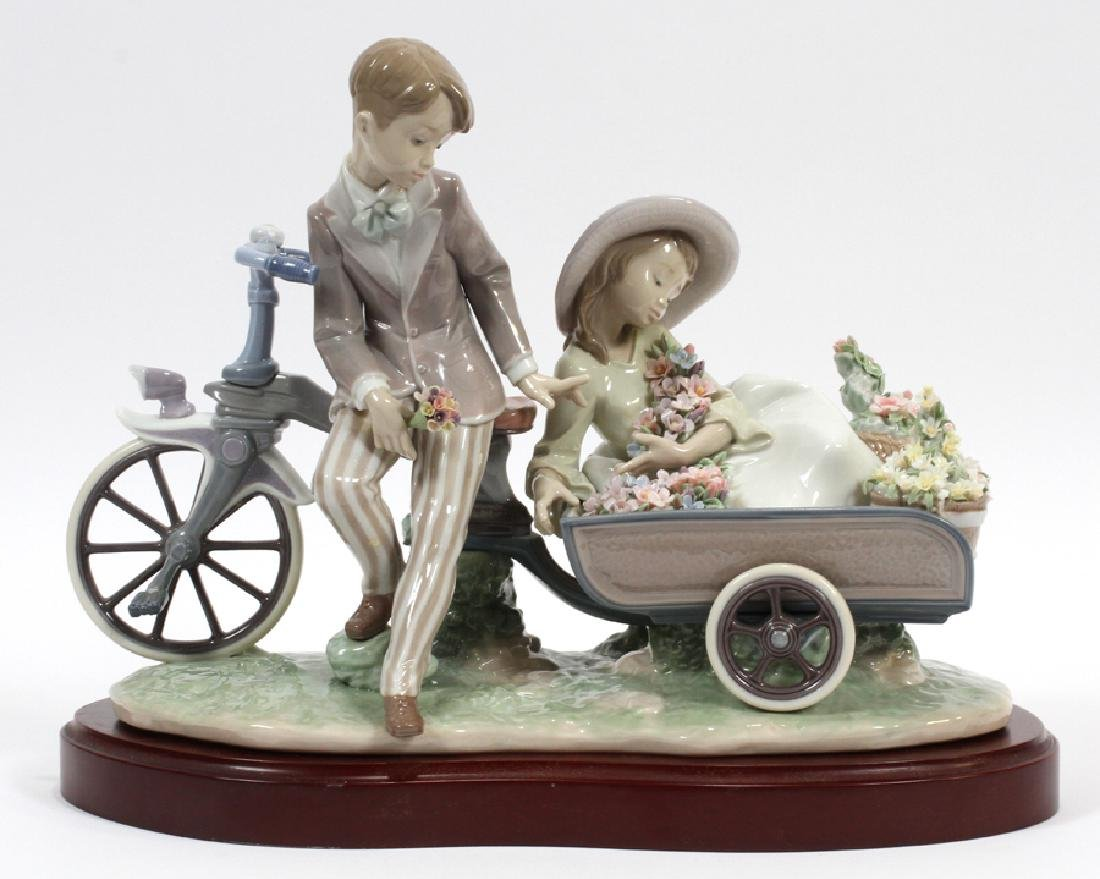 """LLADRO PORCELAIN FIGURE """"COUNTRY RIDE"""""""