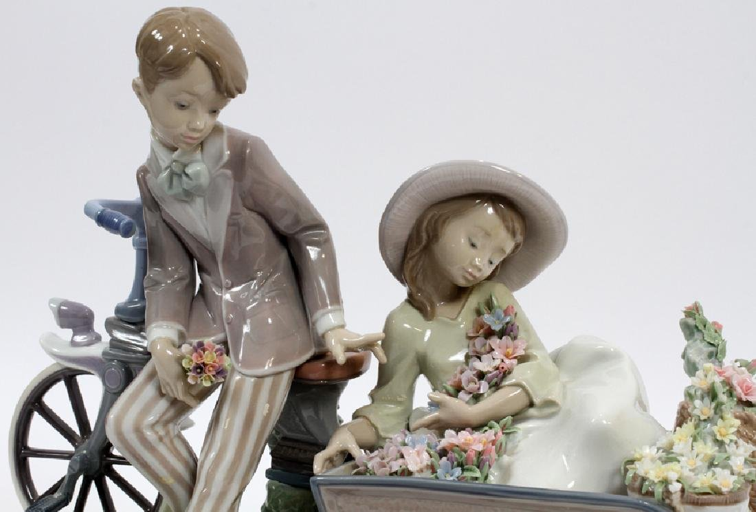 """LLADRO PORCELAIN FIGURE """"COUNTRY RIDE"""" - 2"""