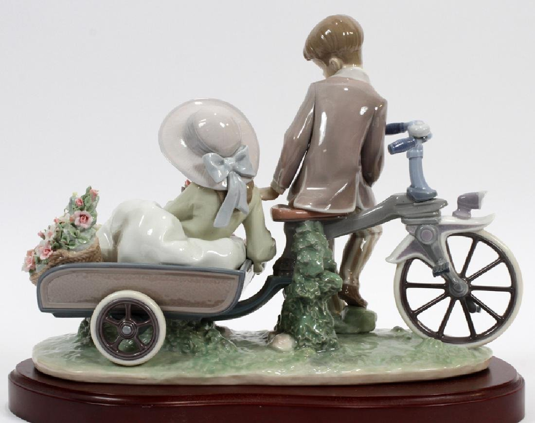 """LLADRO PORCELAIN FIGURE """"COUNTRY RIDE"""" - 3"""