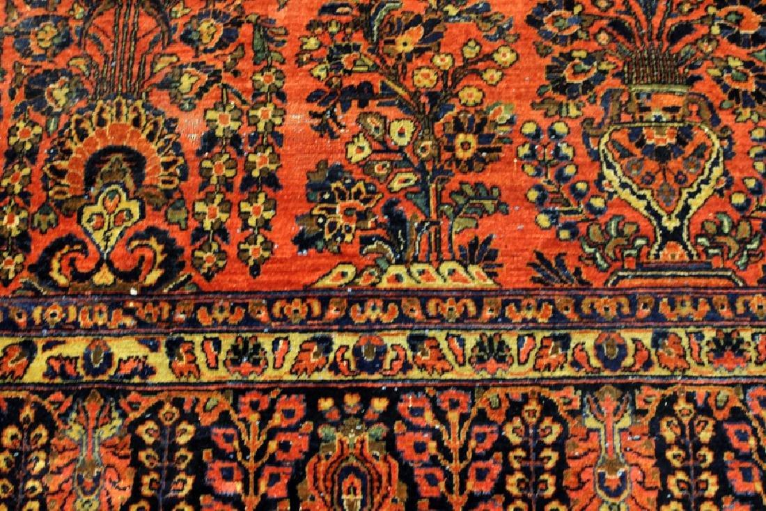 PERSIAN SAROUK, HAND WOVEN WOOL, CARPET - 3