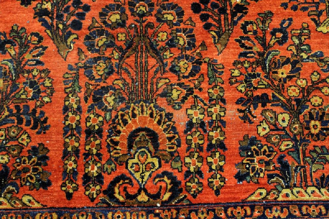 PERSIAN SAROUK, HAND WOVEN WOOL, CARPET - 4
