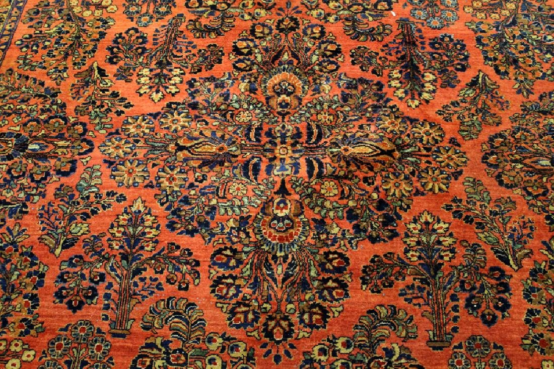 PERSIAN SAROUK, HAND WOVEN WOOL, CARPET - 5