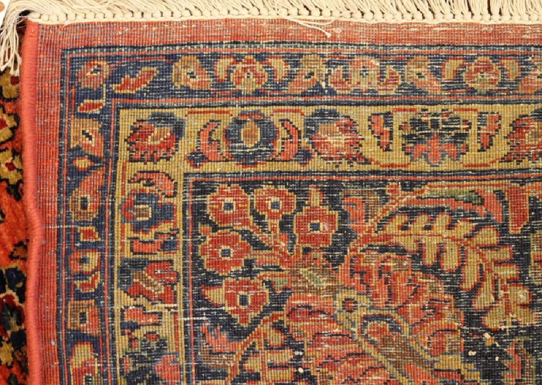 PERSIAN SAROUK, HAND WOVEN WOOL, CARPET - 6