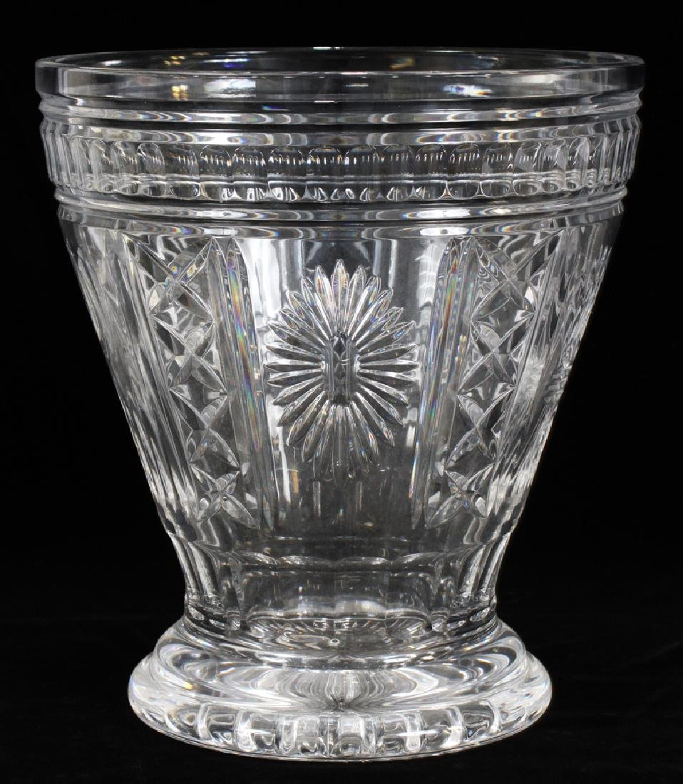 WATERFORD MILLENNIUM COLLECTION CRYSTAL BUCKET