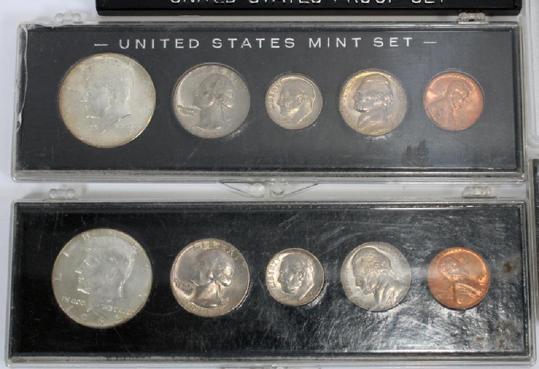 U.S. PROOF, MINT & CIRCULATED COIN-SETS(10) SETS. - 2