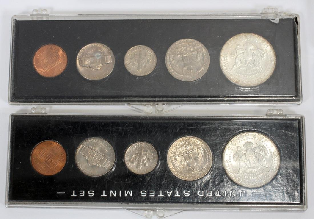 U.S. PROOF, MINT & CIRCULATED COIN-SETS(10) SETS. - 3