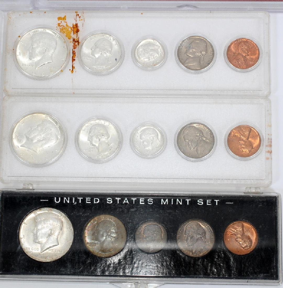 U.S. PROOF, MINT & CIRCULATED COIN-SETS(10) SETS. - 4