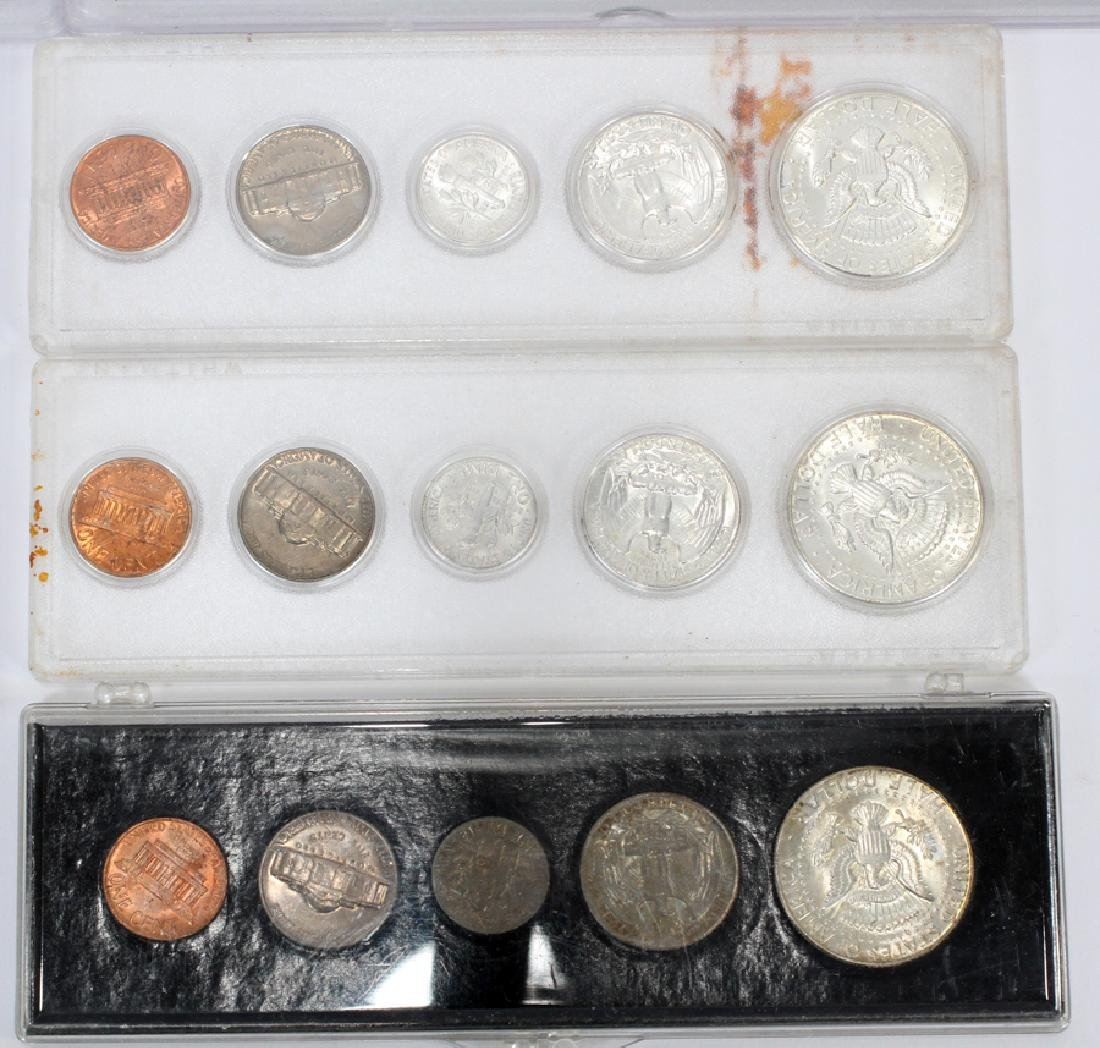 U.S. PROOF, MINT & CIRCULATED COIN-SETS(10) SETS. - 5