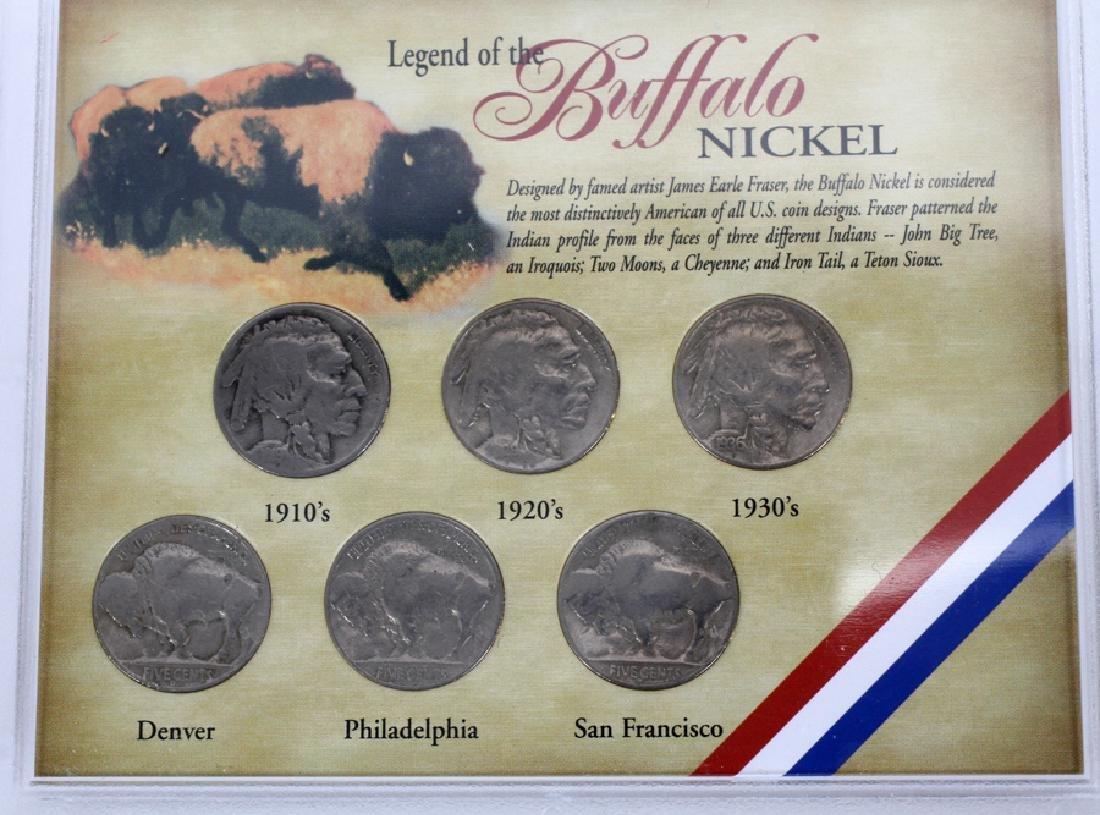 U.S. PROOF, MINT & CIRCULATED COIN-SETS(10) SETS. - 7