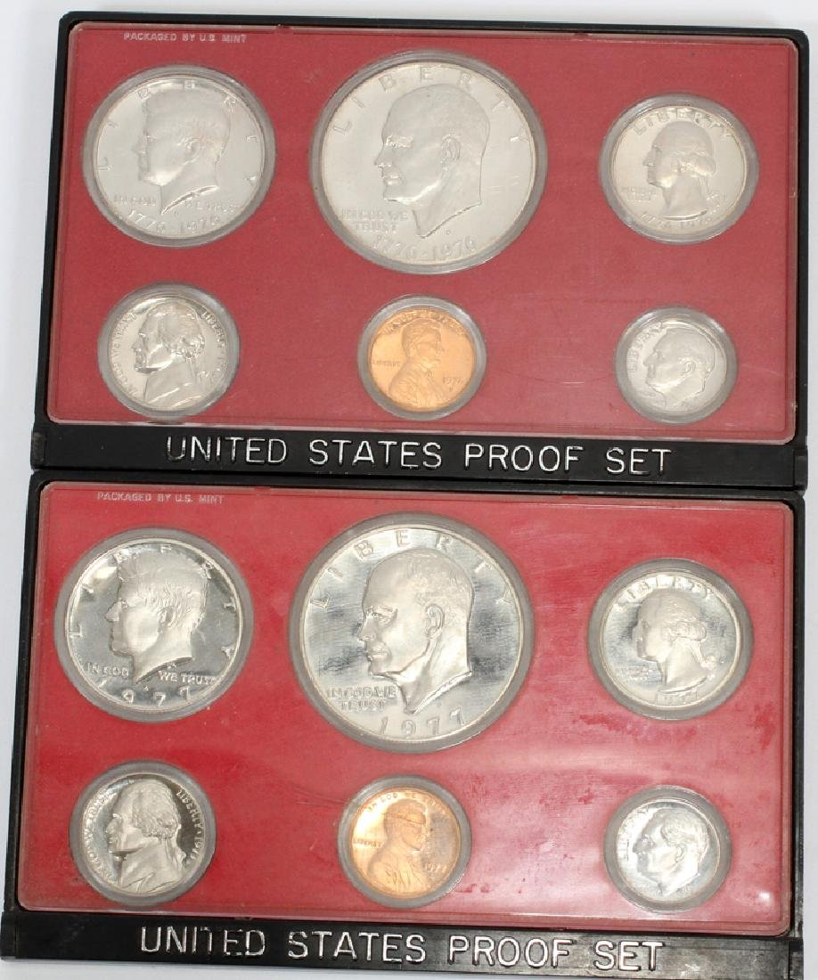 U.S. PROOF, MINT & CIRCULATED COIN-SETS(10) SETS. - 8