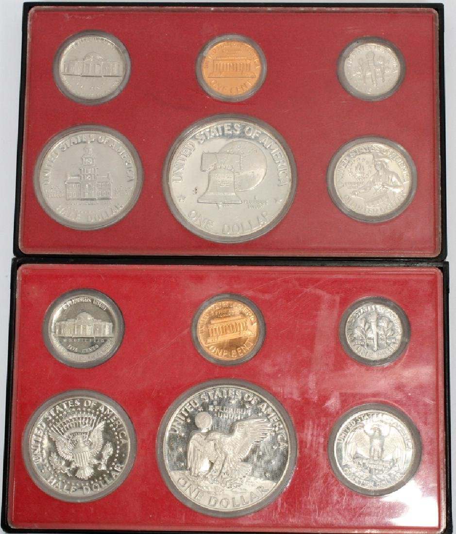 U.S. PROOF, MINT & CIRCULATED COIN-SETS(10) SETS. - 9