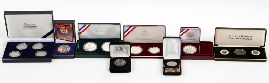 U.S. PROOF, MINT AND CIRCULATED COIN SETS