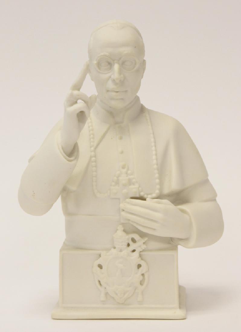 "BOEHM VINTAGE PORCELAIN FIGURINE, #23 ""POPE PIUS"""