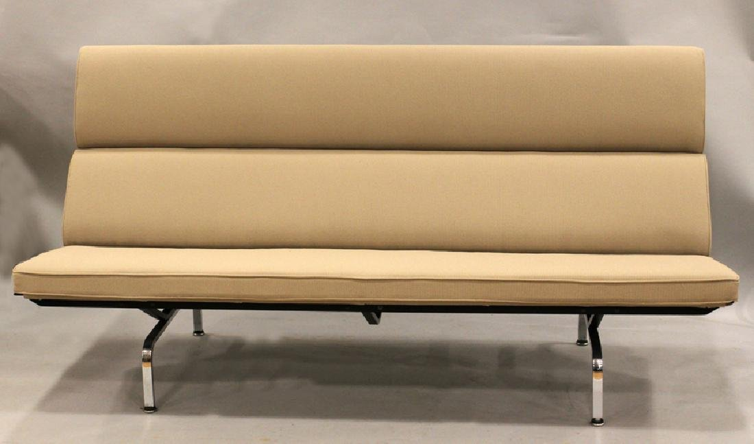 EAMES FOR HERMAN MILLER UPHOLSTERED COMPACT SOFA
