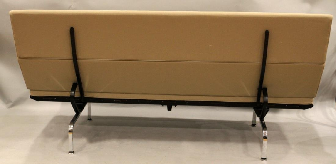 EAMES FOR HERMAN MILLER UPHOLSTERED COMPACT SOFA - 2