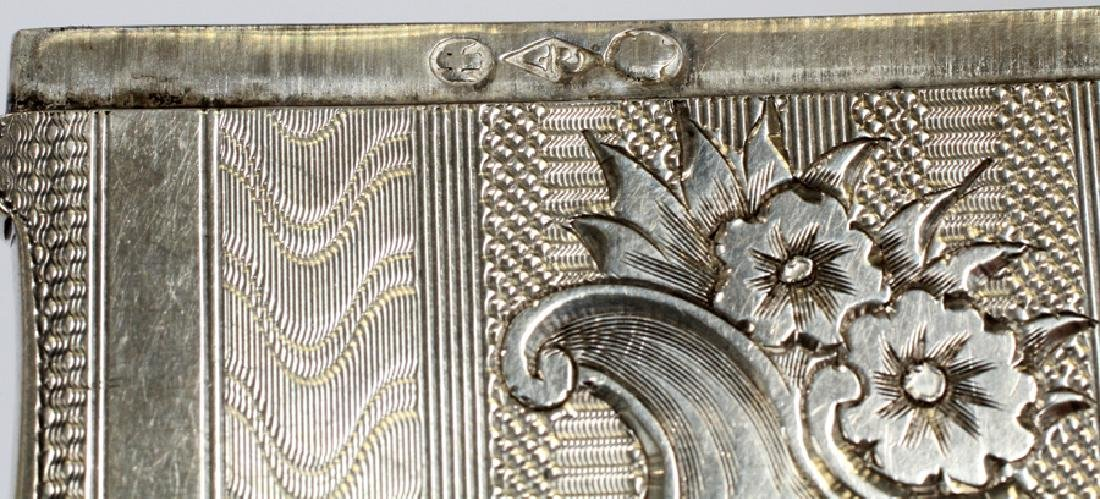 STERLING SILVER ALBERT COLES & CO CARD CASE - 4