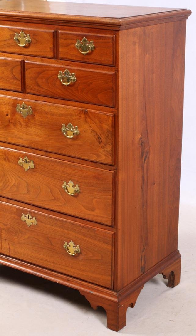 QUEEN ANNE WALNUT CHEST OF DRAWERS - 2
