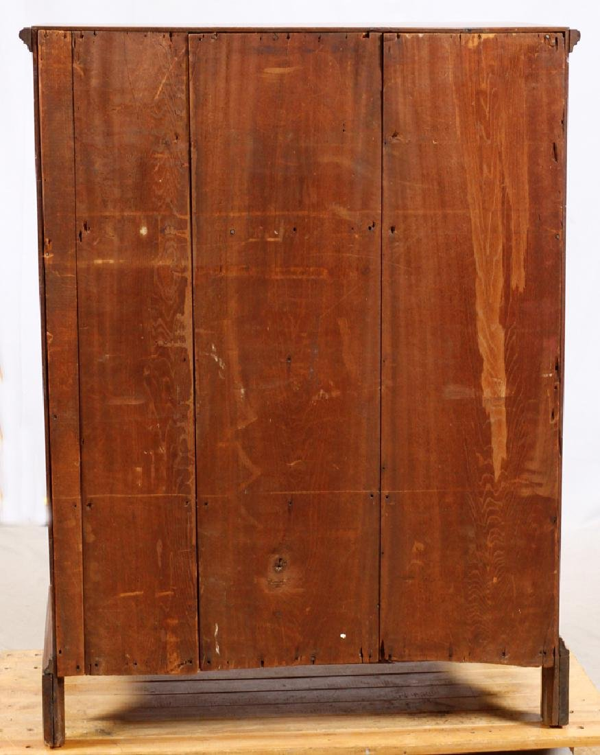 QUEEN ANNE WALNUT CHEST OF DRAWERS - 5