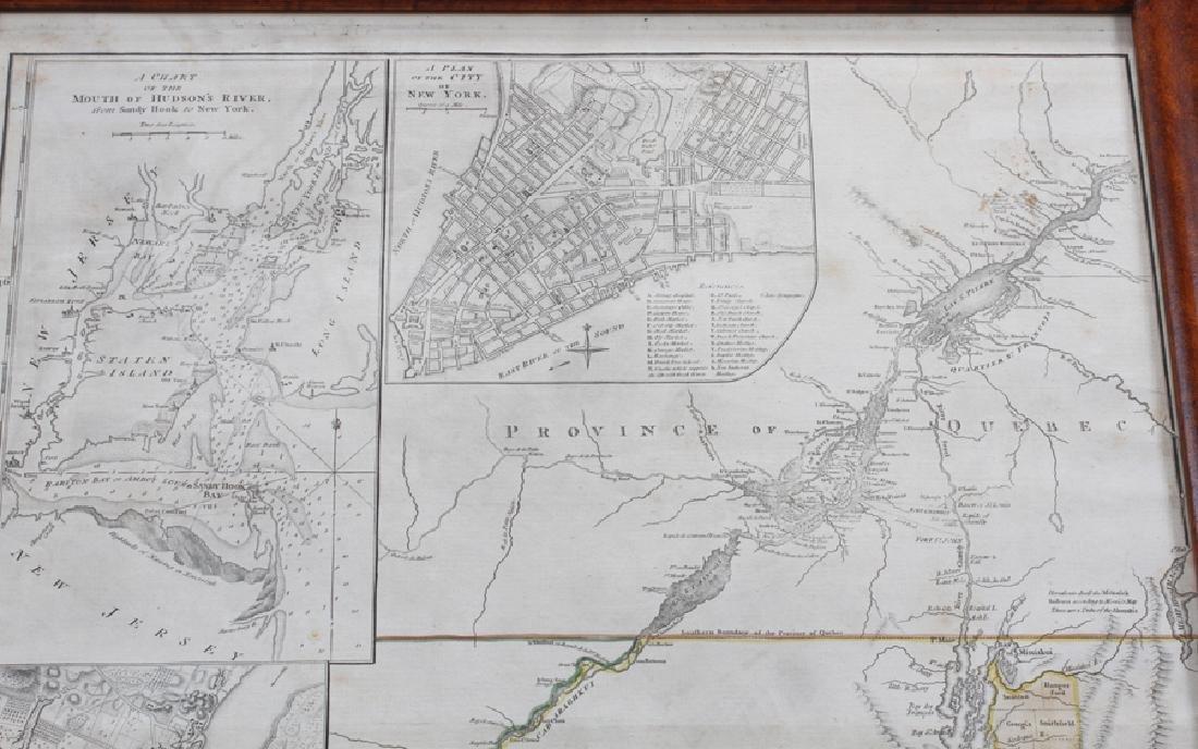 CAPTAIN SAMUEL HOLLAND HAND ENGRAVED MAP, 1775 - 2