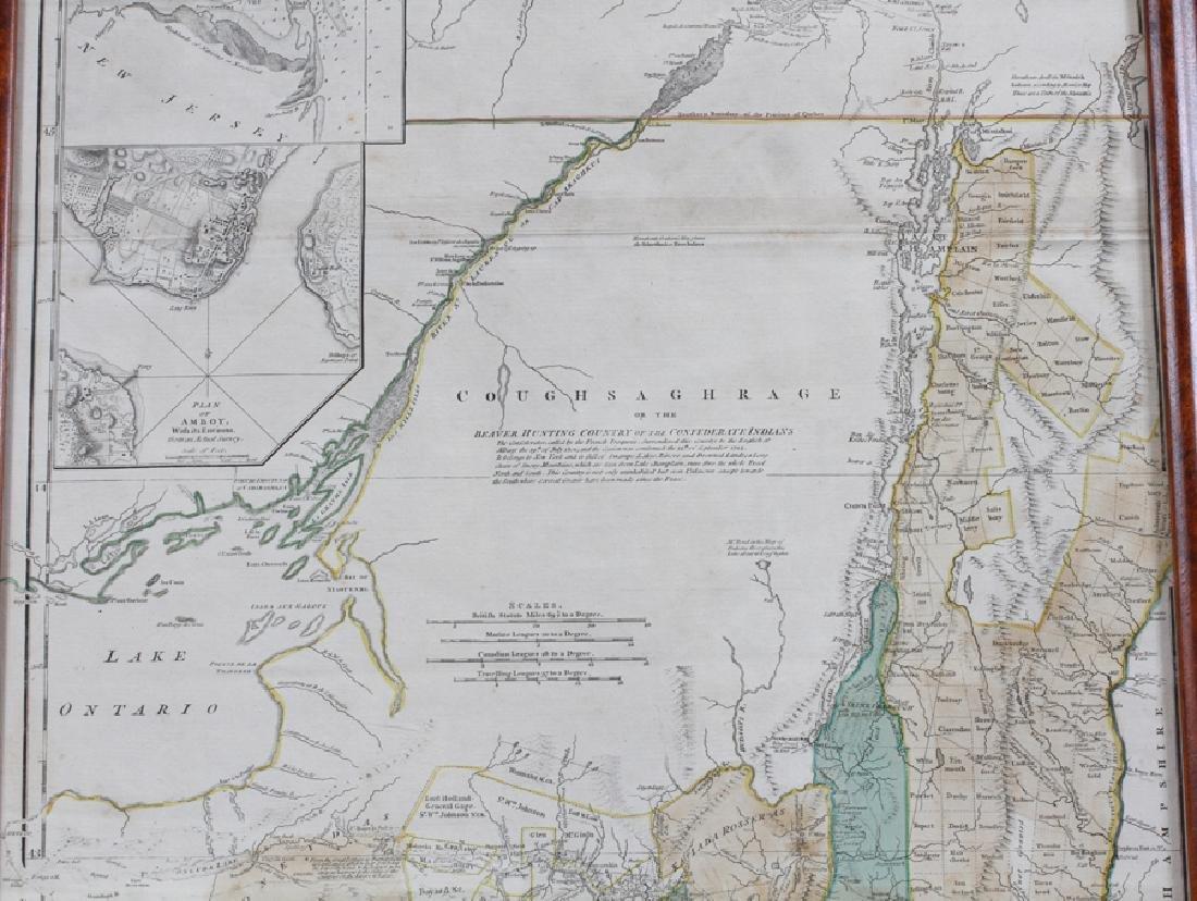 CAPTAIN SAMUEL HOLLAND HAND ENGRAVED MAP, 1775 - 3