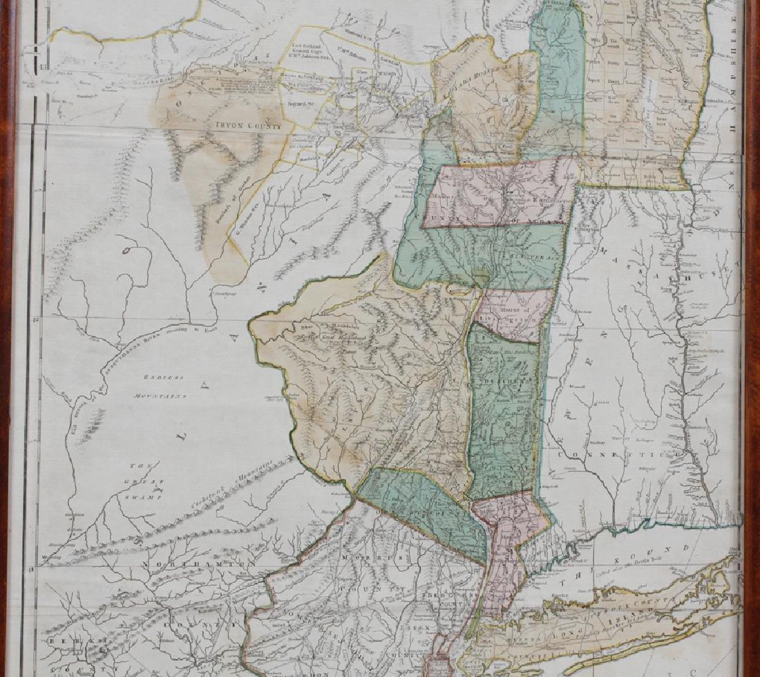 CAPTAIN SAMUEL HOLLAND HAND ENGRAVED MAP, 1775 - 4