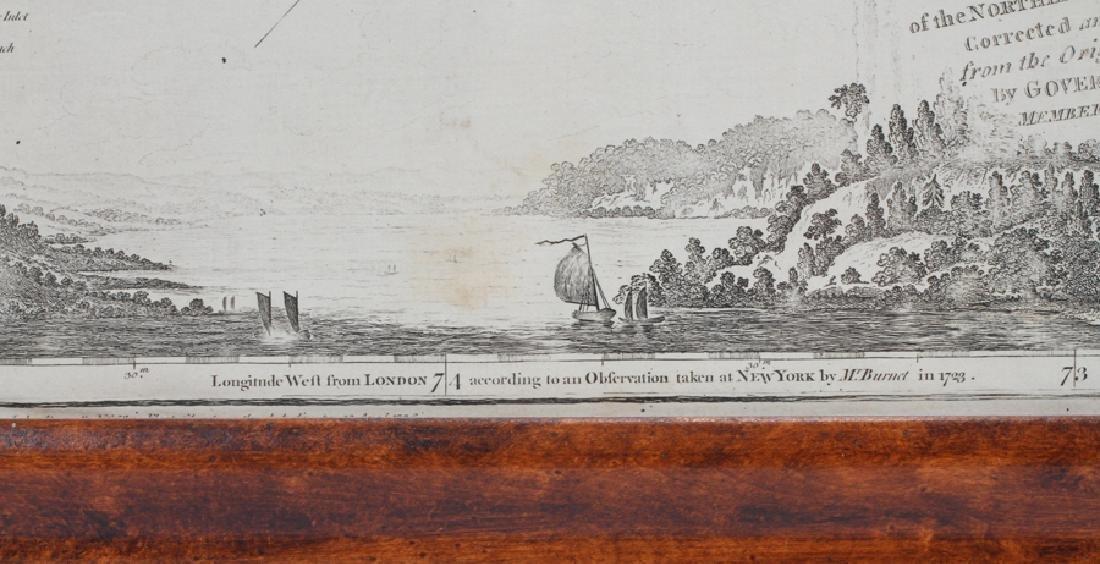CAPTAIN SAMUEL HOLLAND HAND ENGRAVED MAP, 1775 - 7
