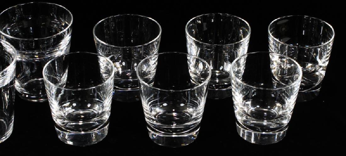 STEUBEN ROCKS GLASSES, SET OF 13 - 2