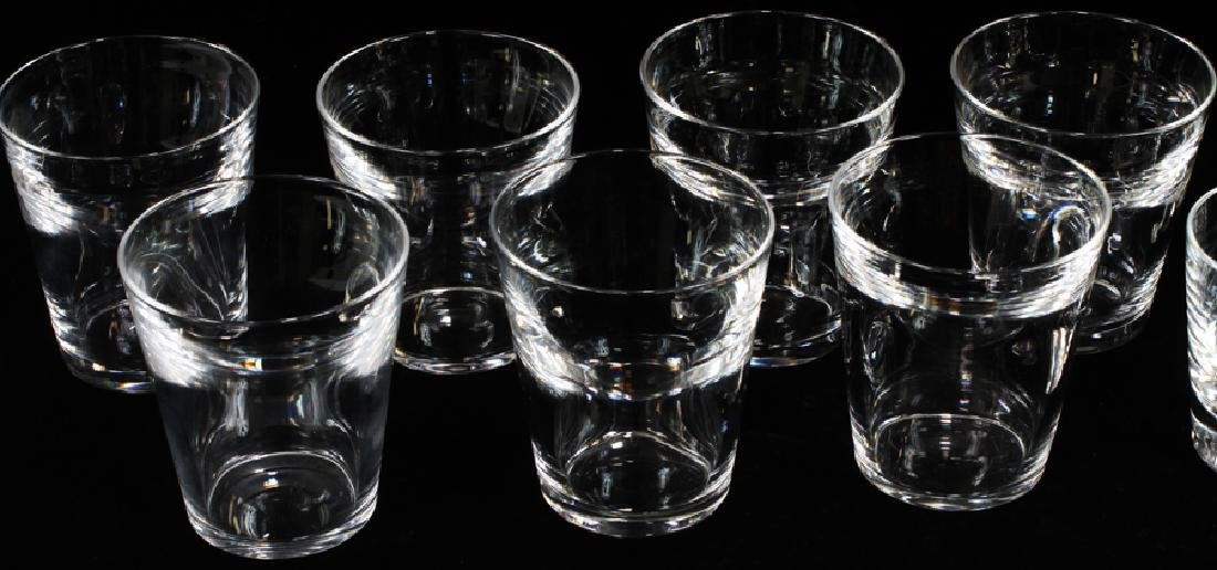 STEUBEN ROCKS GLASSES, SET OF 13 - 3