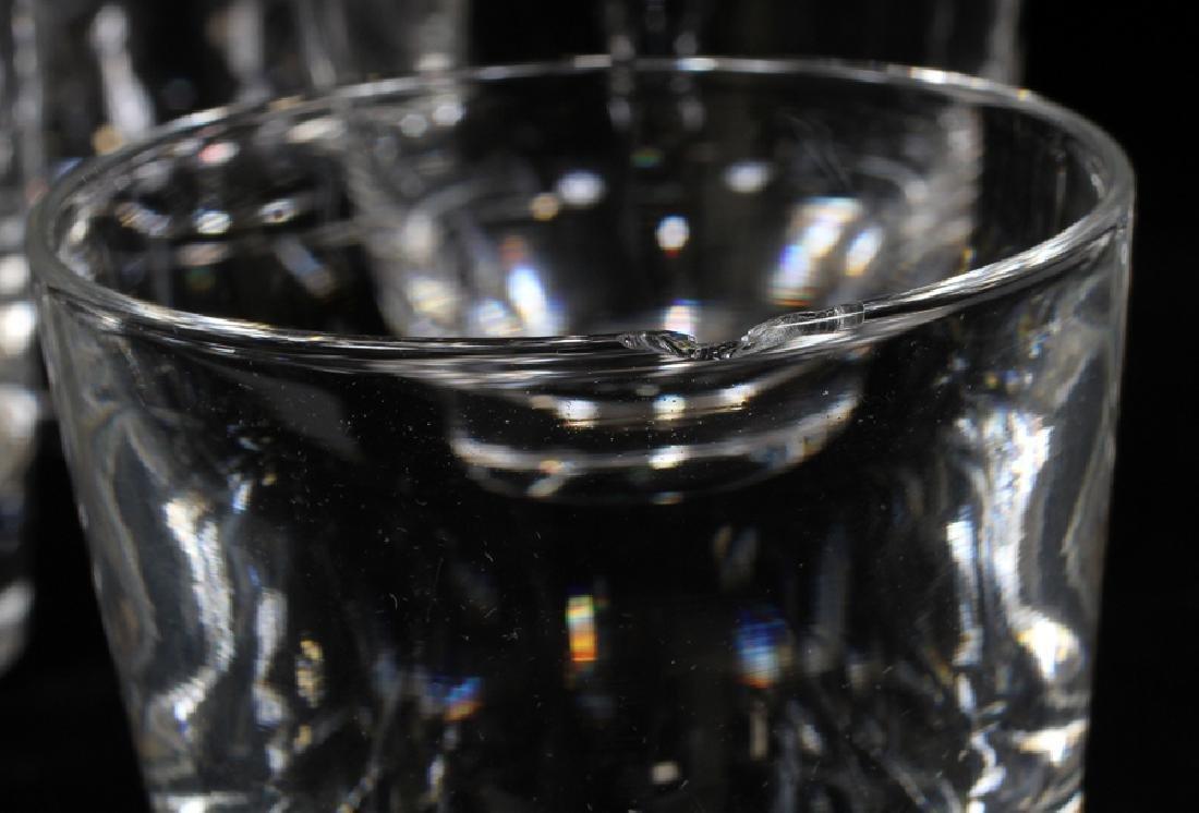 STEUBEN ROCKS GLASSES, SET OF 13 - 5