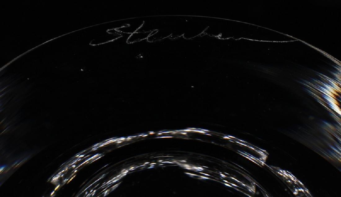 STEUBEN ROCKS GLASSES, SET OF 13 - 6