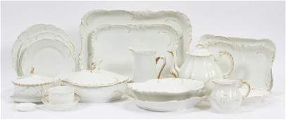 HAVILAND  CO LIMOGES PORCELAIN TABLEWARE