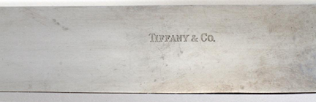 "TIFFANY & CO ""HAMPTON"", STERLING FLATWARE - 4"