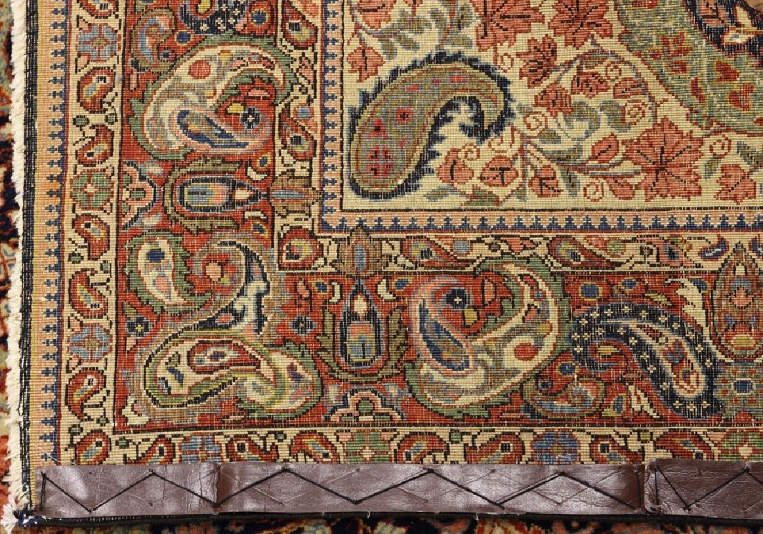 PERSIAN ANTIQUE SAROUK WOOL RUG, CIRCA 1910 - 4