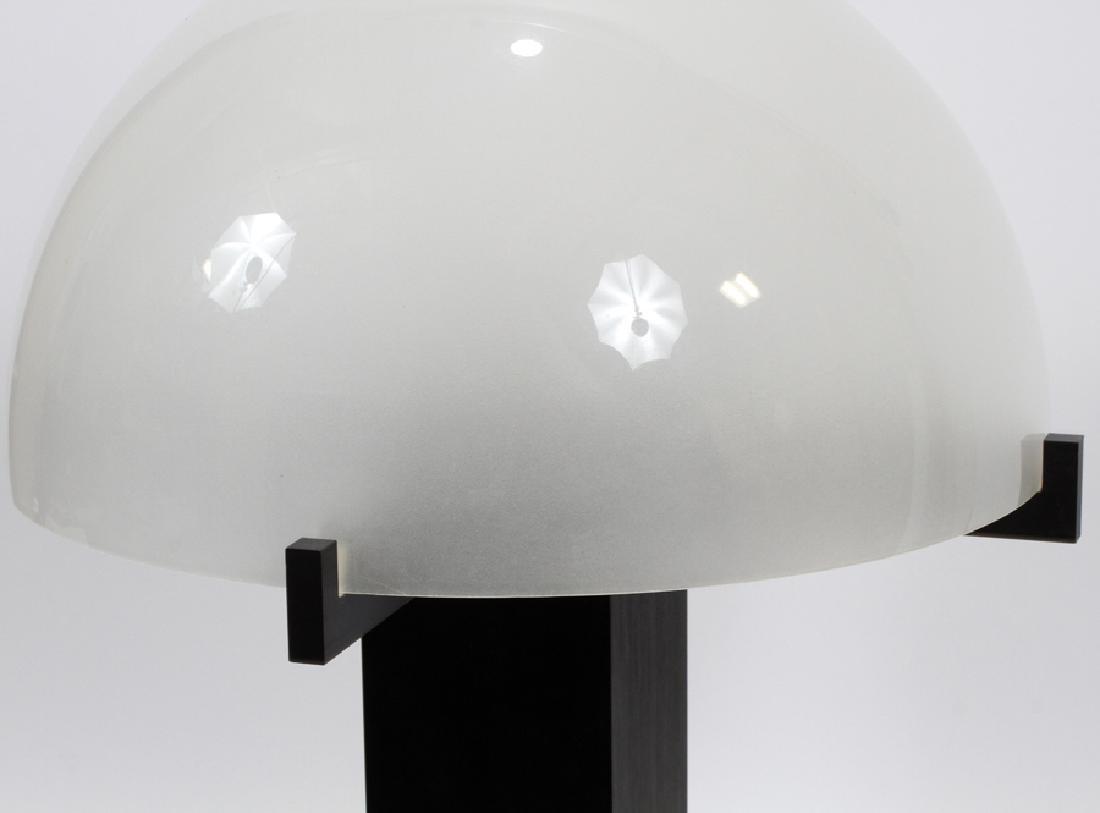"""RON REZAK, METAL MUSHROOM LAMP, H 24"""", DIA 16"""" - 2"""