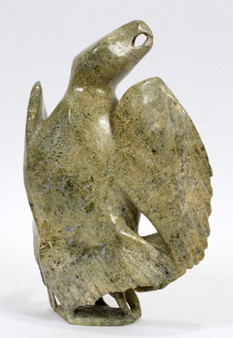 CANADIAN INUIT SOAPSTONE CARVING - 2