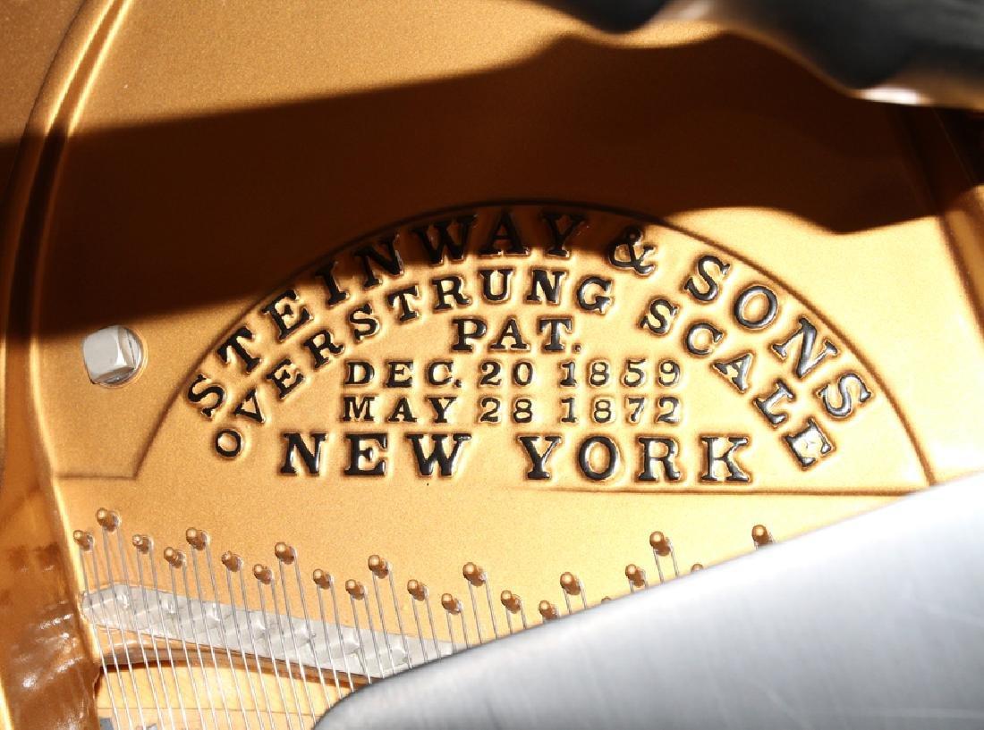 STEINWAY BABY GRAND PIANO L 6' #143880 - 5